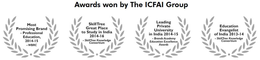award won by ICFAI group