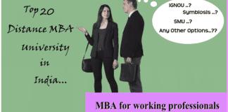Top Distance MBA Universities
