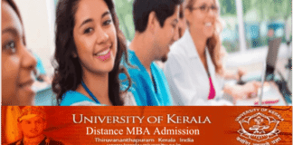Kerala University Distance MBA