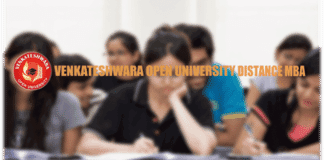 Venkateshwara Open University Distance MBA