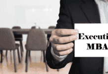 Institutes providing Executive MBA