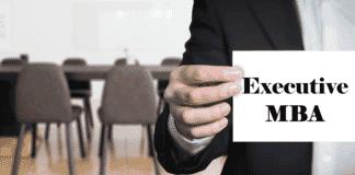 Institutes providing Executive MBA