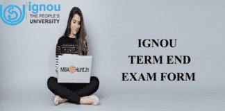 IGNOU exam form