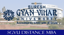 SGVU Distance MBA